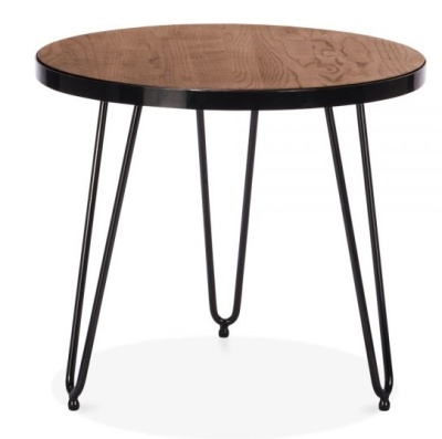 Hairpin Occasional Round Table