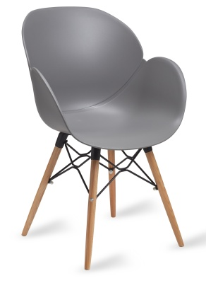 Mackie Armchair In Grey