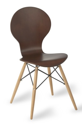 Butterfly Contemp Chair In Wenge