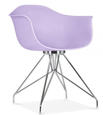 Memot Chair In Lavender Angle View