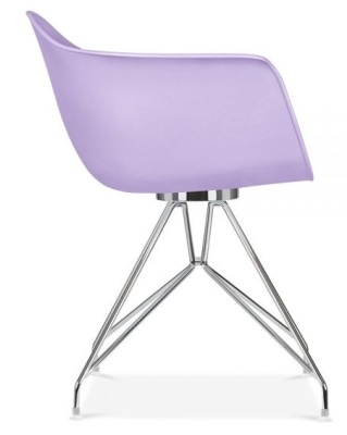 Memot Chair In Lavender Side View