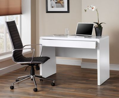 Exile White Office Desk 2