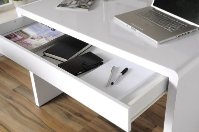 Exile White Office Desk 3