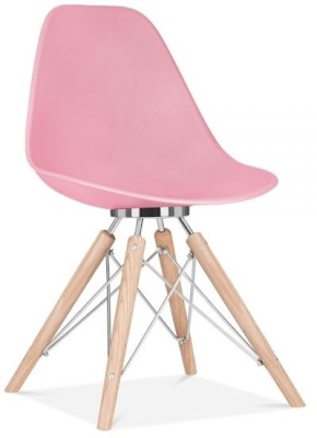 Acona Designer Chair Candy Pink Frnt Angle