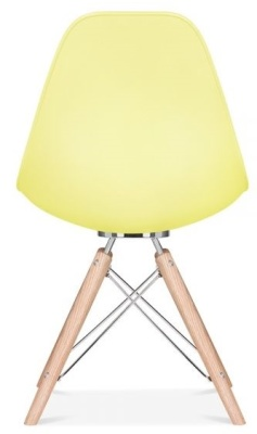 Acona Chair Lemon Shell Rear View