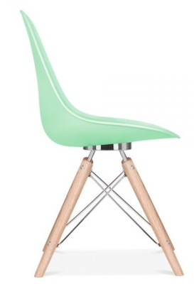 Acona Chair Pastel Green Side View
