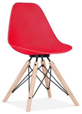 Antona Chaitr In Red With A Black Frame Front Angle
