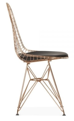 Dkr Chair With A Copper Fframe Side View