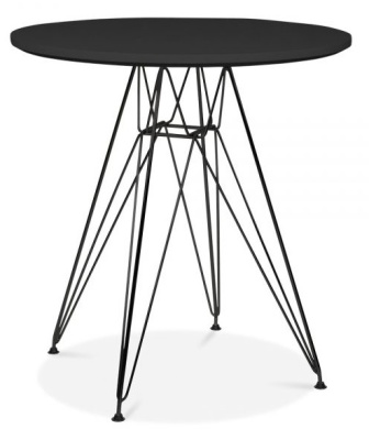 Eames Inspired DSR Table With A Black Frame 1