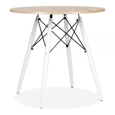 Eames DSW Insired Table With White Legs 1