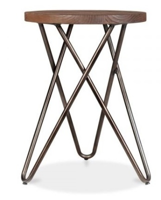 Hairpin Cross Style Low Stool 2