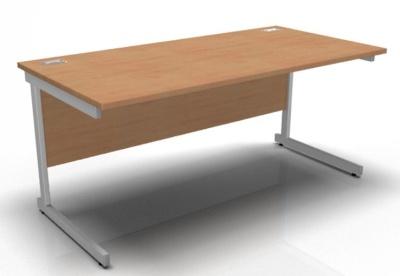 Stellar Rectangular Desk In Beech