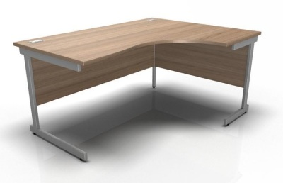 Stellar Right Hand Corner Desk Cantilever Frame