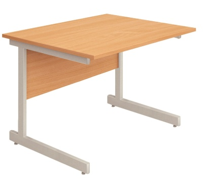 Abacus Freestanding Desk Return