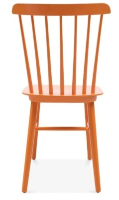 Buckingham Chair In Orange Rear View