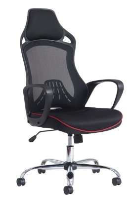 Remlon Mesh Task Chair Front Angle