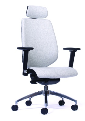 Pulse Ergonomic Task Chair Front Angle
