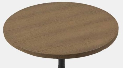 Viking Round Table Top Coppered Finish