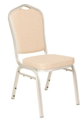 Melbourne Banqueting Chair Silver Frame