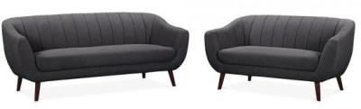 Blake Dark Grey Sofa Set 2