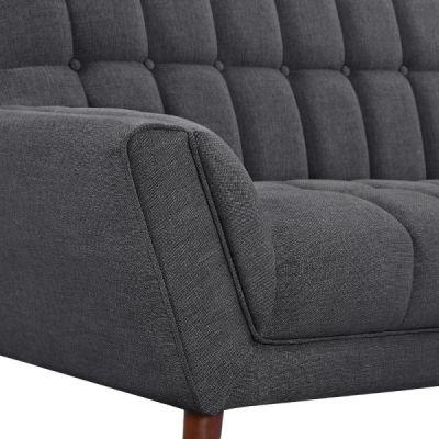 Cortina Dark Grey Upholstery Detail Shot