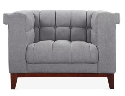 Decor Designer Armchair In Smoke Grey