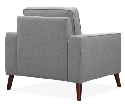Pimlico Designer Armchair Rear Angle View