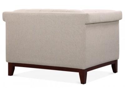 Decor Armchair Rear View In Cream