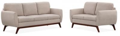 Toleta Sofa Set In Cream