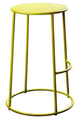Maxine Metal High Stool In Yellow