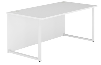 Dual Single Bench In White