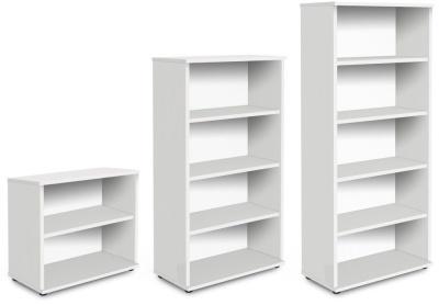Trapido Bookcases In White