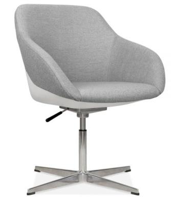 Maxico Tub Chair Cool Grey Fabric