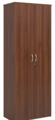 Duplex Tall Walnut Cupboard