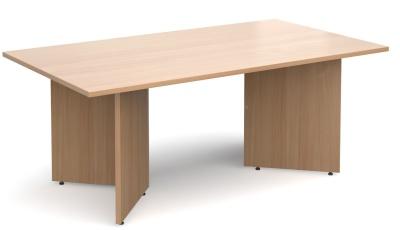 Dexter Boardroom Table In Beech