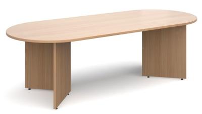 Dexter Oval Table Beech Finish