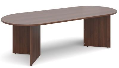 Dexter Oval Table Walnut Frinish