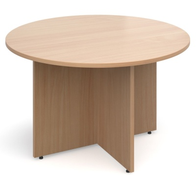 Dexter Round Meeting Table In Beech