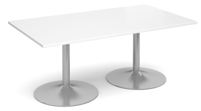 Tempest Rectangular Table White Top