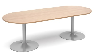 Tempest Oval Table With A Beech Top