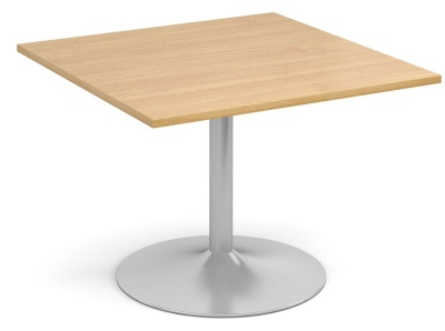 Tempst Square Modular Table With An Oak Top