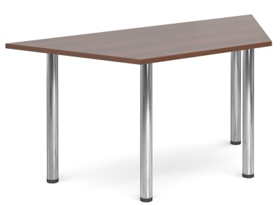 GM Deluxe Trapzoidal Table Walnut Top