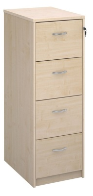 Momento Next Day Wooden Filing Cabinets In Maple