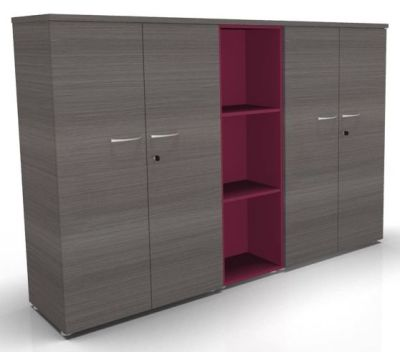 CO1 Combination 2 Storages + 1Column 1360h Cedar Raspberry