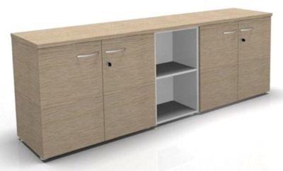 CO1 Combination 2 Storages + 1Column 720h Bleached Oak White