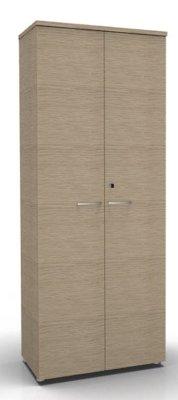 CO1 Double Door Cupboard Bleached Oak