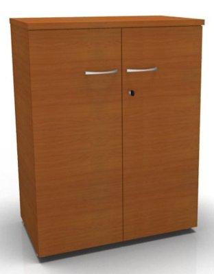 CO1 Double Door Cupboard 1040 H Cherry