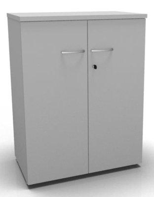 CO1 Double Door Cupboard 1040 H Grey