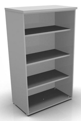CO1 1360h Bookcase Grey