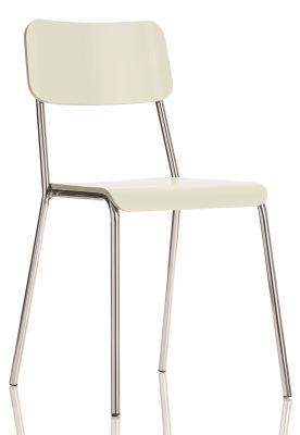 Kooler Bistro Chairs White Shell